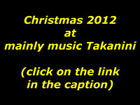 Christmas 2012 at mainly music Takanini